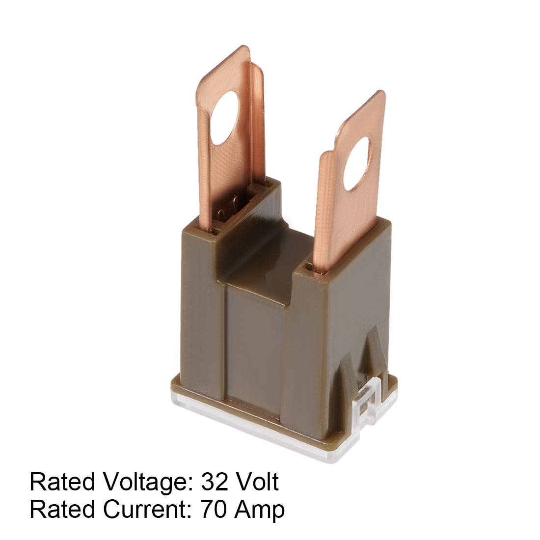 uxcell Automotive Cartridge Fuse 32V 70A Male Terminal Blade J Case Box for Car Truck Vehicle 2pcs