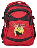 Caribou Camping Co. The Eco-Friendly Daypack™ by The ONLY Backpack made from Recycled Materials. | 100% Recycled Polyester. Construction. | Lightweight and Durable. |
