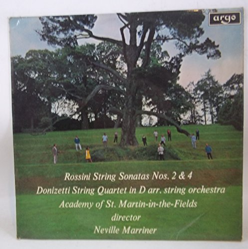 Rossini: String Sonata Nos 2 and 4 / Donizetti: String Quartet in D