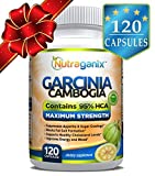 95% HCA Garcinia Cambogia Extract, 120 Veggie Capsules, Non-GMO, Gluten Free, Vegan Friendly