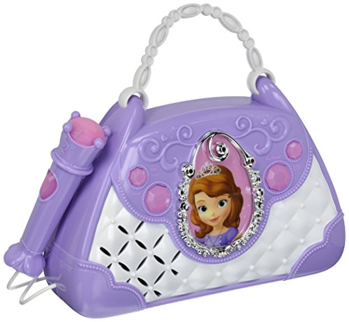 Sofia The First Disney Junior Time To Shine Sing Along Boombox With Microphone Connect Your Mp3 Player   Sing To Your Music Or Sofias Built In Tunes
