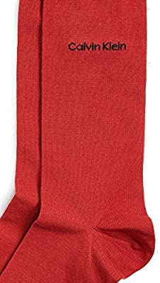 Calvin Klein Underwear Men's Solid Crew Socks