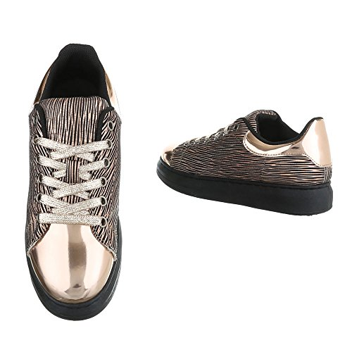 Donna Pantofole Gold Design Ital Ital Design qxwpRIC