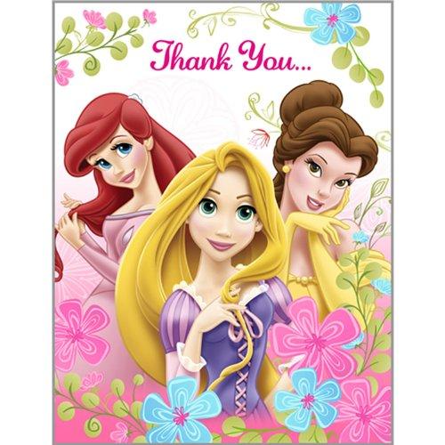Disney Princess 'Fanciful Princesses' Thank You Notes w/ Envelopes (8ct)