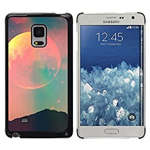 Estuche Cubierta Shell Smartphone estuche protector duro para el teléfono móvil Caso Samsung Galaxy Mega 5.8 9150 9152 / CECELL Phone case / / moon sky teal pink nature night space /