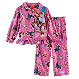 Paw Patrol Girl's Size 4T To The Skies Skye Pink Flannel Pajama Set