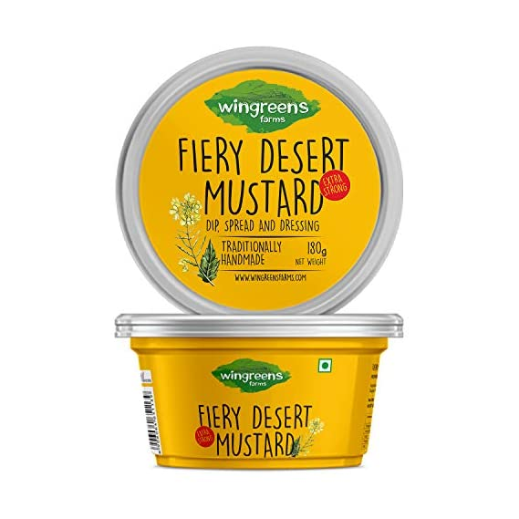 Wingreens Farms Fiery Desert Mustard (180g)