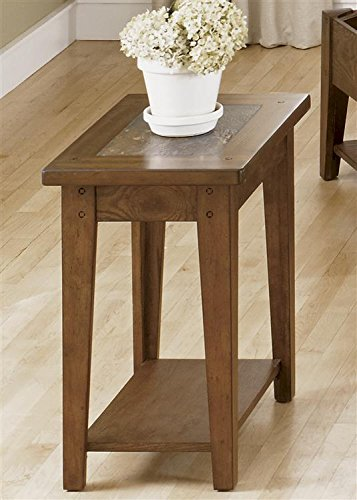 Liberty Furniture 382-OT1021 Hearthstone Chair Side Table, 15