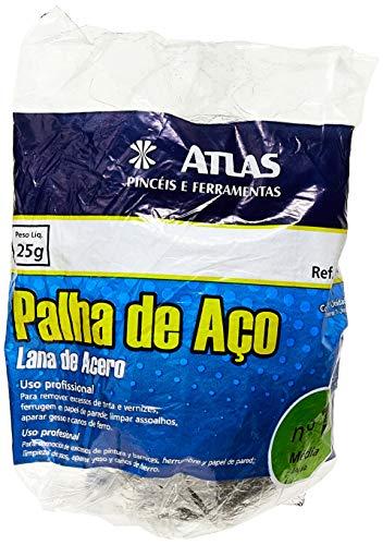 Pincéis Atlas AT90/60 Palha de Aco N 1