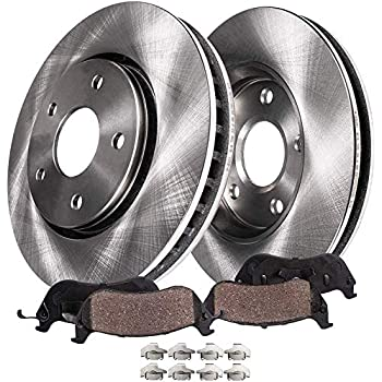 Front+Rear Cross Drilled Rotors /& Ceramic Pads for 2009-2014 Toyota Matrix 1.8L