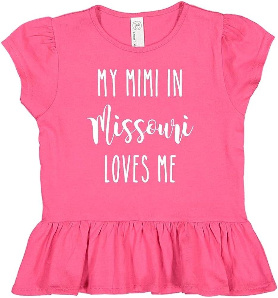 Toddler//Kids Ruffle T-Shirt My Mimi in Missouri Loves Me
