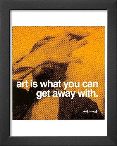 Art Framed Art Print by Andy Warhol 13 x (Andy Warhol Home Revolution)