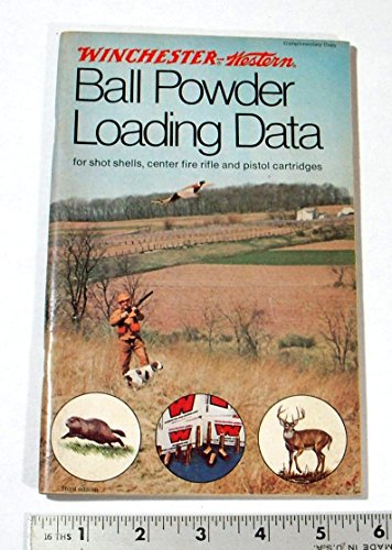 1976 WINCHESTER BALL POWDER RELOADING DATA MANUAL