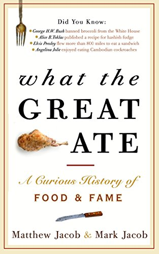 What the Great Ate: A Curious History of Food and Fame by Matthew Jacob, Mark Jacob