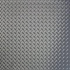Polyvinyl Floor Covering Diamond Pattern, Gray, 7-1/2' x 17' Designed for both industrial and commercial applications including garages and auto shops, these .075 thick protective floor pads provide an attractive pattern design and improves t...
