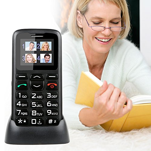 Kocaso Companion Senior Phone Oversized Big Button, Emergency SOS, Photo Dial, GSM Quad Band Unlocked