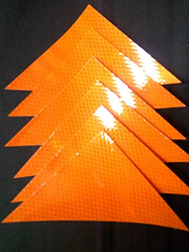 3M WHC4X6 White Reflective Orange