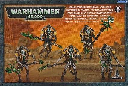 Games Workshop Warhammer 40,000 Necron Lychguard/Triarch Praetorians