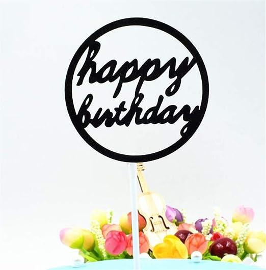 MwaaZ Puede Decorar tu Fiesta Banners de Torta de cumpleaños ...