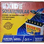 Exide Solar C10 Tubular Battery – 150Ah Inverter Battery