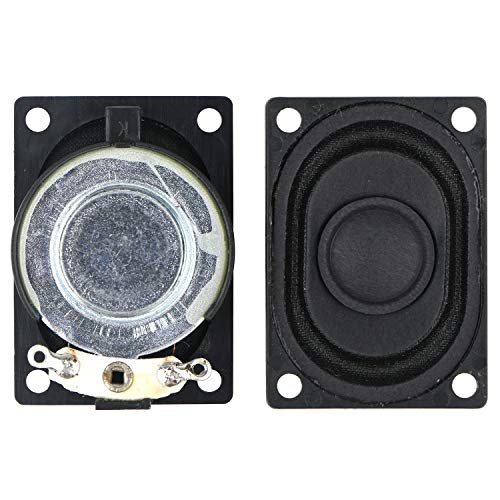 2 Pcs Mini Speaker Kit for Laptop DIY Electronic Components 8 ohm 2W Speaker,for Arduino Speaker Electronic Small Production
