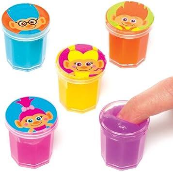 Plastilina sonora de Hairy Heads para niños - Perfecta para bolsas sorpresa o como regalo para niños (pack de 6).: Amazon.es: Juguetes y juegos