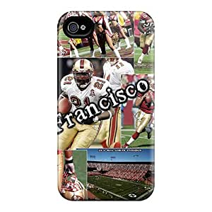 Best Hard Phone Cases For Iphone 4/4s (YKC18831YeNP) Support Personal Customs Stylish San Francisco 49ers Skin