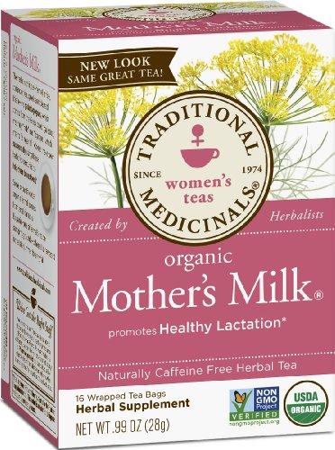 Традиционный Medicinals Молоко Органическое матери, 16-Count коробки, 0,99 унции. (Графа 6)