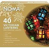 Noma 40 Victorian Lanterns Christmas Tree
