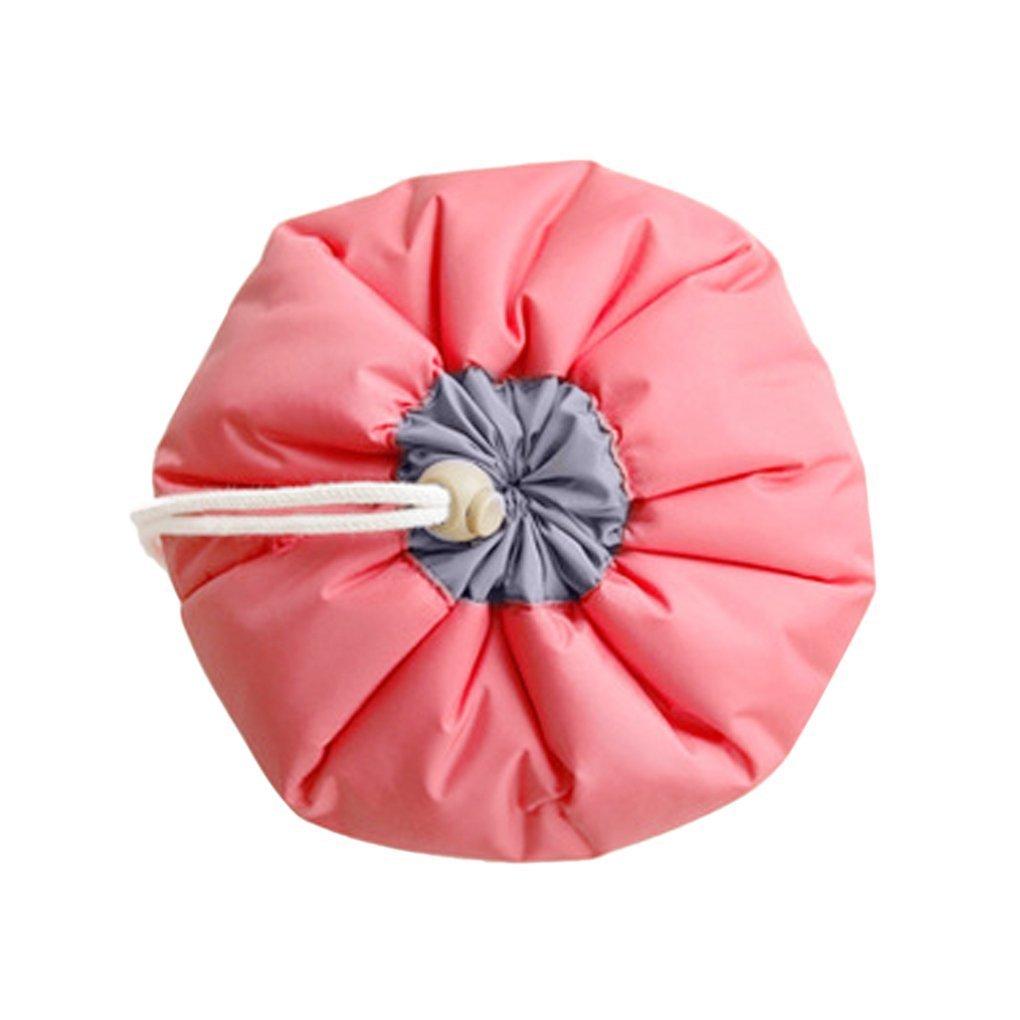 2 Packs Travel Cosmetic Bags, Waterproof Makeup Bags Multifunctional Bucket Toiletry Bag