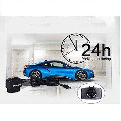 24 Stunden ?berwachung modus und ACC modus REARMASTER Auto Kamera Dashcam kabel mit Dual Modus Schalter micro-usb OBD-Anschluss