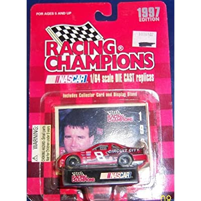 1997 Racing Champions # 8 Hut Striklin 1/64 scale: Toys & Games