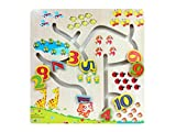 Find The Path Numbers Wooden Puzzle Board Game For Kids Perfect Brain Development Toys