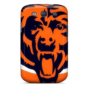 Perfect Hard Phone Cover For Samsung Galaxy S3 (Off20239XKYT) Allow Personal Design Vivid Chicago Bears Series