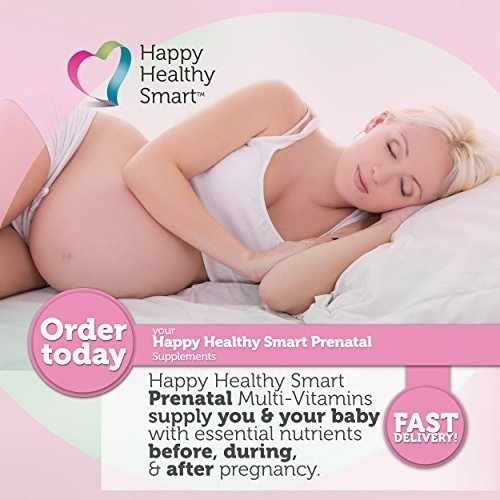 Happy Healthy Smart Prenatal Vitamins