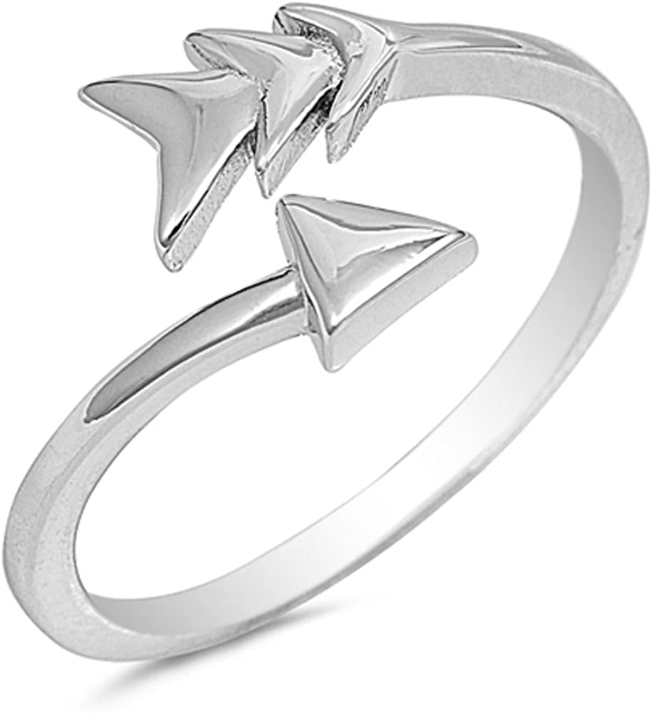 CloseoutWarehouse Designer Style Ring Sterling Silver 925
