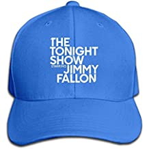 Sport The Tonight Show Starring Jimmy Fallon Cotton Baseball Cap Peaked Hat Adjustable For One Size Fit All RoyalBlue