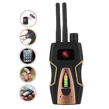 YTBLF Detector de RF antispyware, Detector de señal inalámbrica, Detector de Audio gsm/