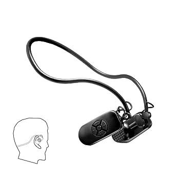 Eplze Conducción ósea Auricular IPX8 Impermeable Reproductor de mp3 8 GB para Nadando Buceo: Amazon.es: Deportes y aire libre