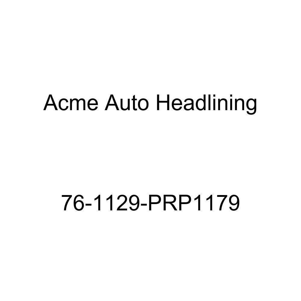 Acme Auto Headlining 76-1129-PRP1179 Black Replacement Headliner T-Hanger 1976 Buick Century 4 Door Wagon