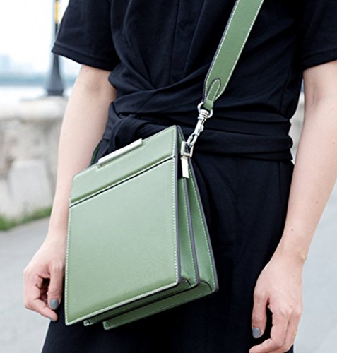 Messenger Travel Shoulder Bag Women's Green Fashion Bags Square Body Cross Small Bags Casual OHA4qgT