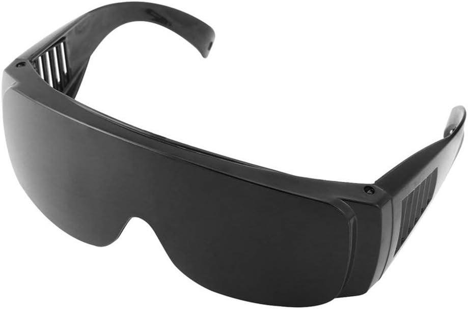 Gafas protectoras de seguridad a prueba de polvo Gafas de seguridad de soldadura OPT//E light//IPL//Photon Beauty Instrument Gafas l/áser rojas negro Jasnyfall