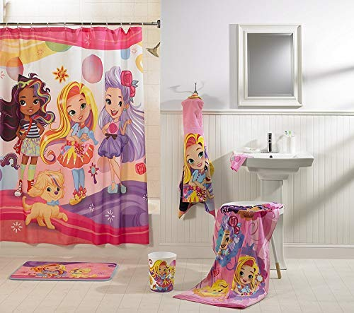 - Franco Sunny Day Hair Day Out Shower Curtain
