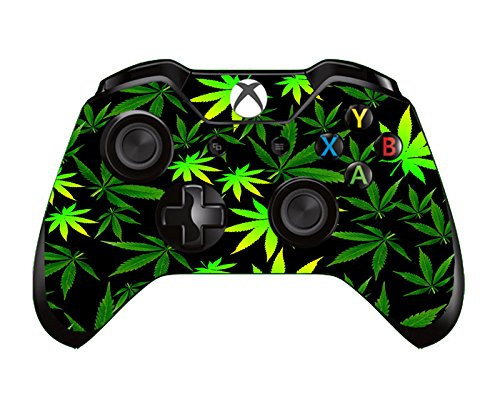 SKINOWN Xbox One Controller Skin Weeds Sticker Vinly Decal Cover for Microsoft Xbox One DualShock Wireless Controller