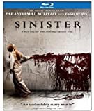 Sinister [Blu-ray] cover.