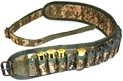 20 Gauge 12 Clay Shooting Hunting Ammo Holder Shotgun CAMO CARTRIDGE BELT