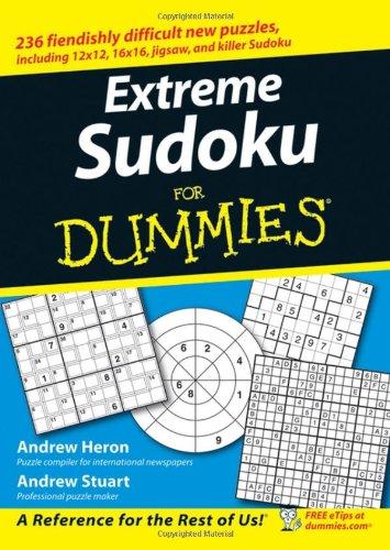 Extreme Sudoku Dummies Andrew Heron product image