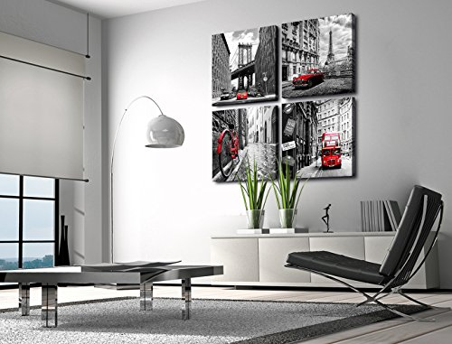Canvas Prints Wall Decor Art Home Decorations Black And White With