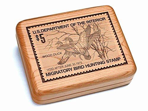 Heartwood Creations Hinged Box 7x6 - Wood Ducks ()