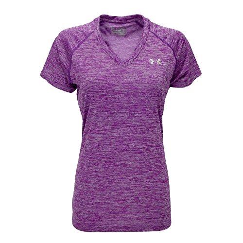 Under Armour Women's UA Twisted Tech™ Short Sleeve T-Shirt Small STROBE Trade Soccer T-shirt